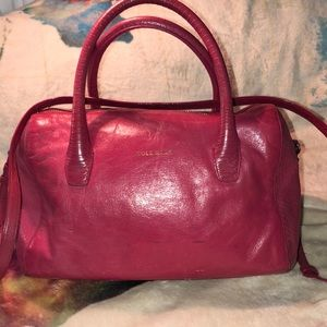 Cole Haan Pink Leather Crossbody Good Condition